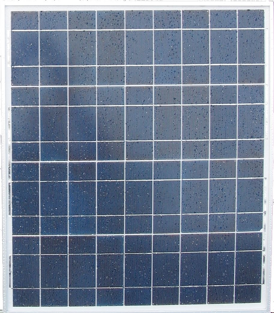 45 Watt, Polycrystaline Photovoltaic Solar Panel