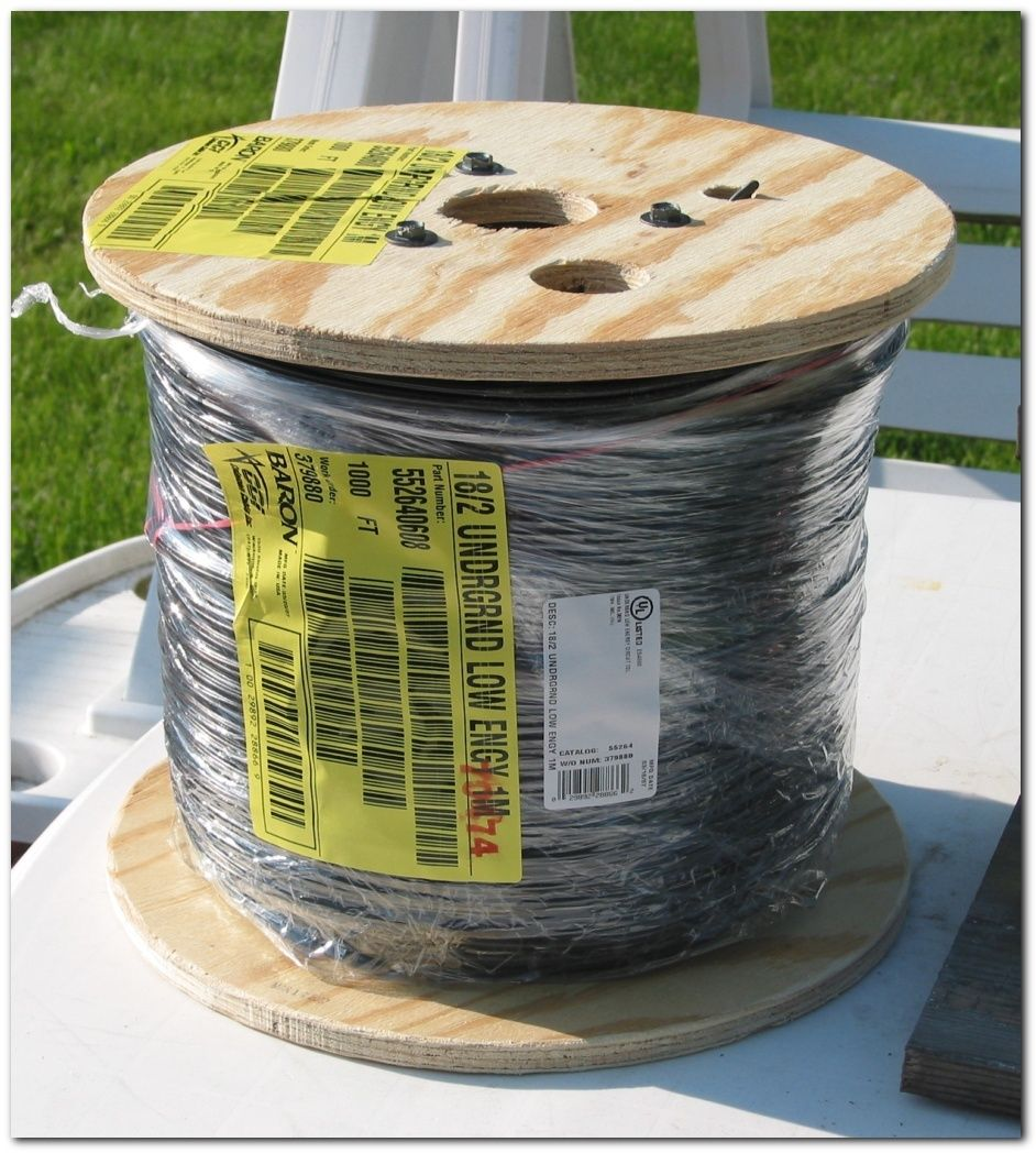 1000' Low Voltage Underground Wire - Click Image to Close